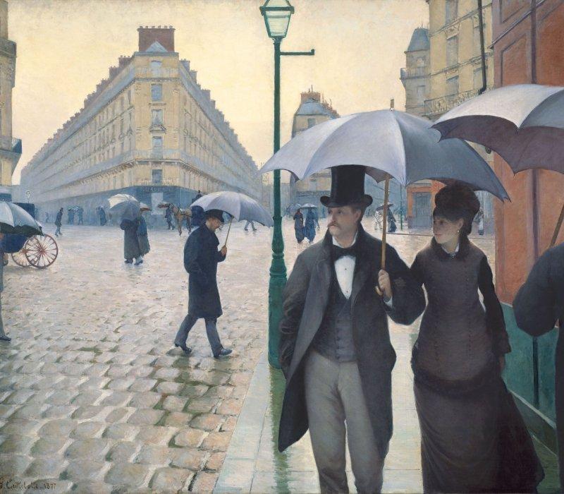 Gustave Caillebotte   Jour de pluie à Paris scaled