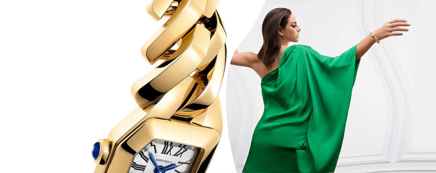 Cartier Saat Stüdyolarından Yeni Bir Mücevher