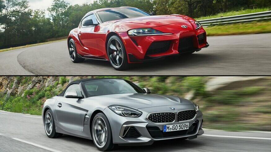 2020 Toyota Supra vs BMW Z4 2019 - YouTube